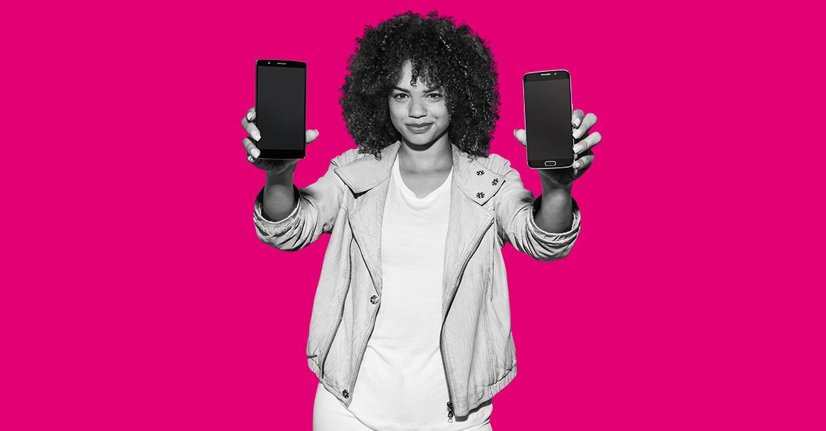 T-Mobile has 2X the LTE coverage since 2014.