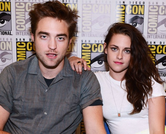 Robert Pattinson, Kristen Stewart, Comic-Con