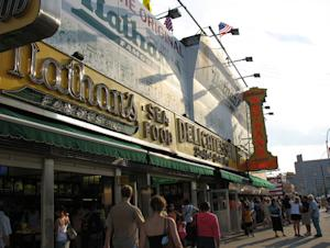 Nathan's Coney Island Flagship Reopens After Sandy With New Menu