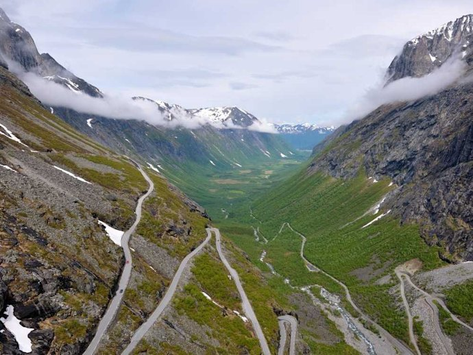 Trollstigen Norway Road