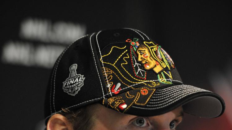 NHL: Stanley Cup Final-Chicago Blackhawks Media Day
