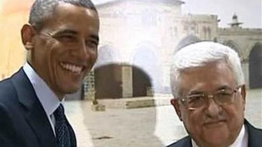 Obama Meets With Palestinian President