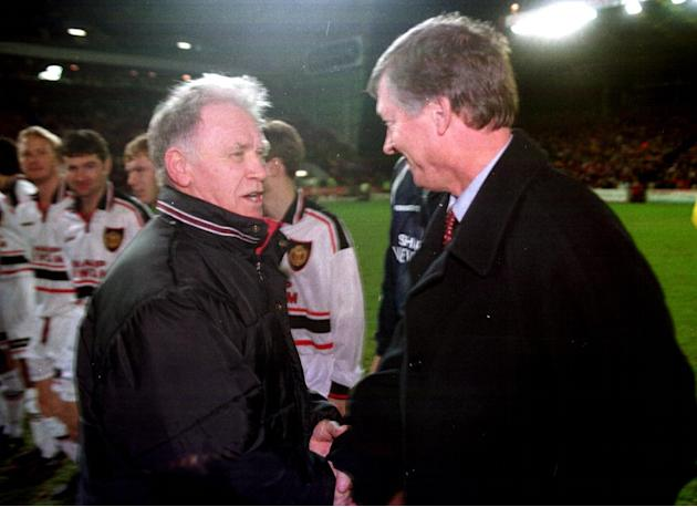 Teddy Scott's testimonial match saw Manchester United visit Pittodrie in 1999
