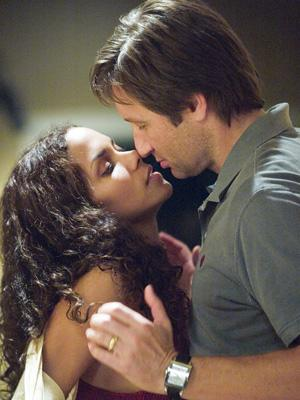 Halle Berry and David Duchovny in DreamWorks Pictures' Things We Lost in the Fire