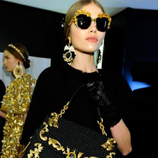 Dolce and Gabanna AW12 Backstage