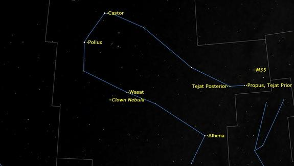 Gemini Constellation Holds Starry Treats for March Stargazers