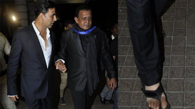 Caught On Cam: Akshay wears suite with sleepers!