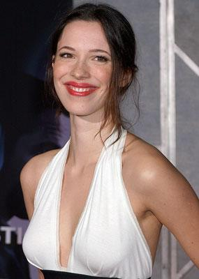 Rebecca Hall at the Hollywood premiere of Touchstone Pictures' The Prestige