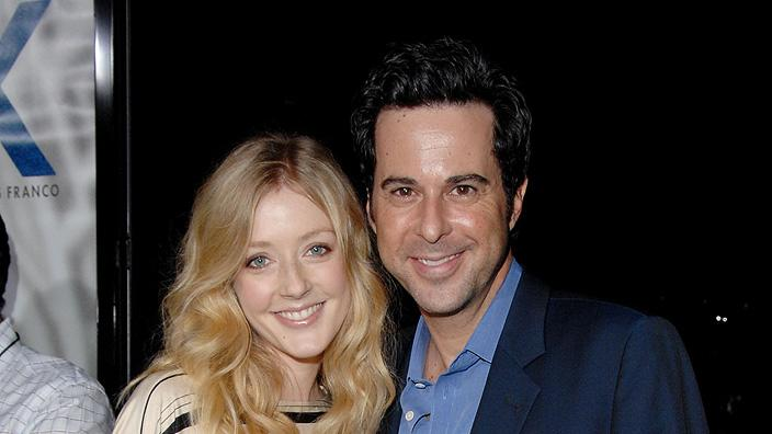 Milk Los Angeles Premiere 2008 Jennifer Finnigan Jonathan Silverman