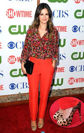 Would You Mix Floral and Animal Prints Like Rachel Bilson?