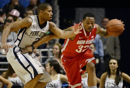 No. 14 Ohio State beats Penn State 65-51