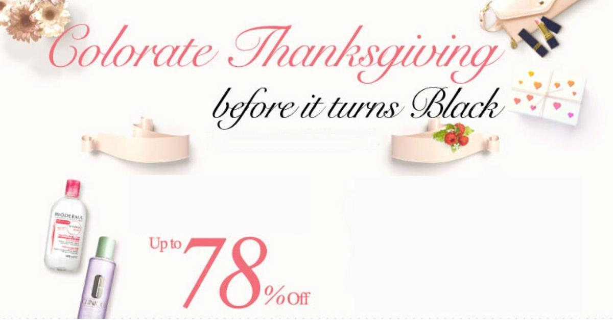 Colorate Your Black Friday with Sasa Gifts!