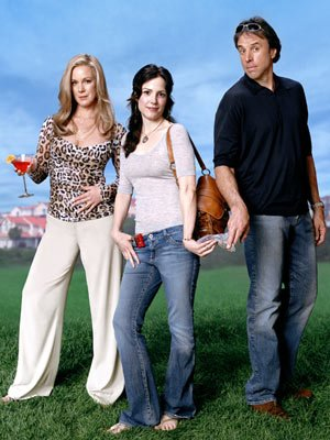 Elizabeth Perkins, Mary-Louise Parker and Kevin Nealon Showtime's Weeds