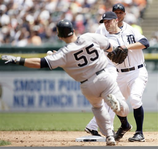 Jeter, A-Rod homer off Verlander; Yankees win 5-1
