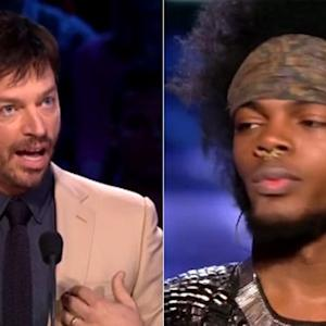 Contestant Storms 'American Idol' Judges' Table to Face Off with Harry Connick Jr.