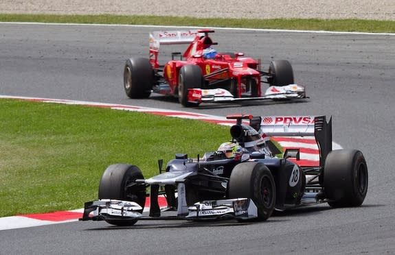 Formula 1 Racing Loud Enough to Damage Hearing