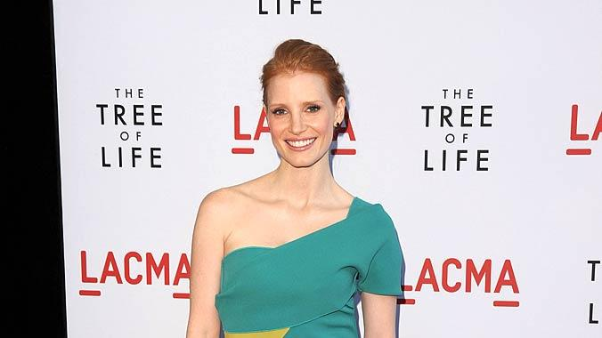 Jessica Chastain The Tree Of Life Pr