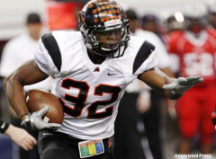 Aledo star running back Jonathan Gray in the Class 4A Div. II state title game