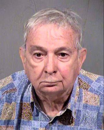 John Feit, 83, is shown in this Maricopa County Sheriff's Office photo tweeted after his arrest in Arizona