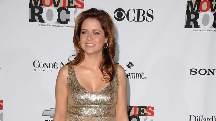 Jenna Fischer arrives at CondÈ Nast Media Group's 2007 Movies Rock.