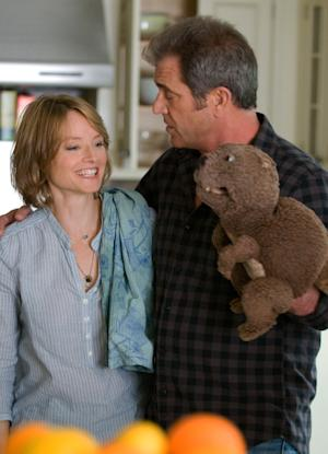 """In this film publicity image released by Summit Entertainment, actors Jodie Foster and Mel Gibson are shown during the filming of """"The Beaver.""""  (AP Photo/Summit Entertainment, Ken Regan)"""