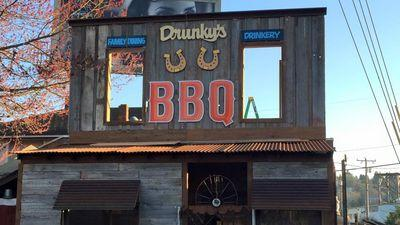 Drunky's Two Shoe BBQ Opens on Leary April 4