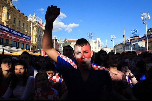 Croatian Football Fans Celebrate&nbsp;&hellip;
