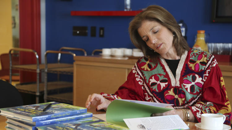 Caroline Kennedy returns to poetry for 10th book