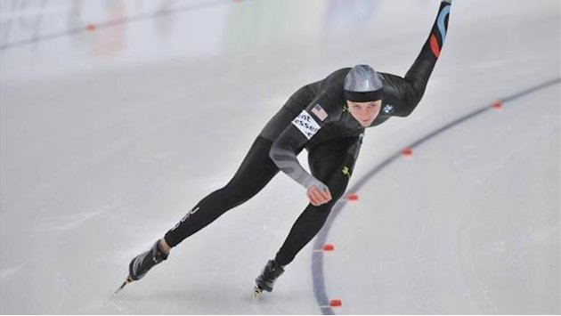 Speed Skating - Richardson finally wins in Heerenveen