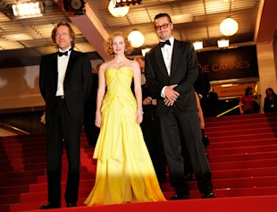 Jessica Chastain wearing Zac Posen in Cannes
