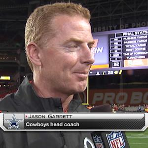 Dallas Cowboys head coach Jason Garrett: It was a fun experience and a privilege to coach