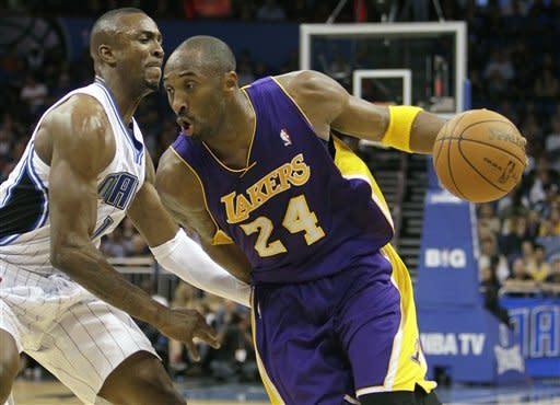 Howard's big night carries Magic past Lakers 92-80