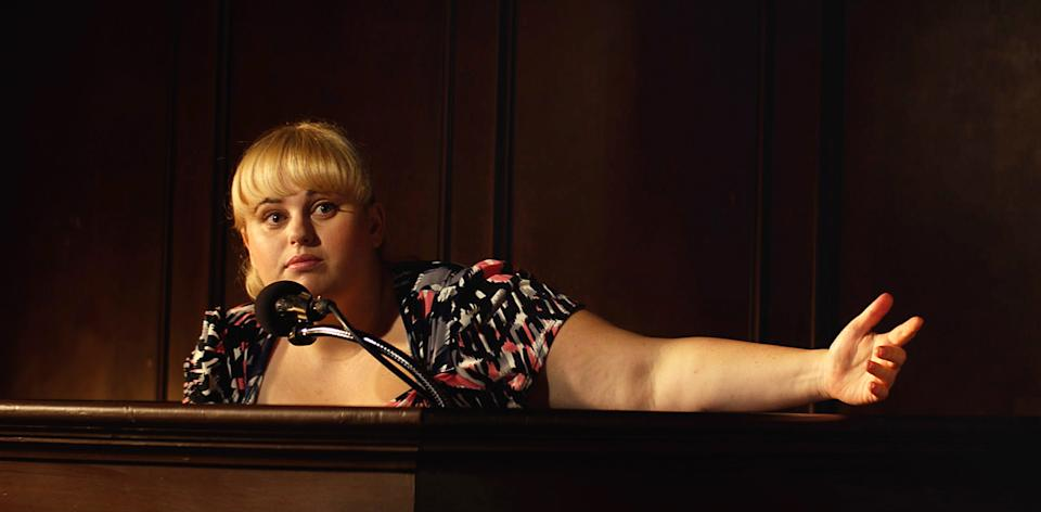 "This film image released by Paramount Pictures shows Rebel Wilson in a scene from ""Pain and Gain."" (AP Photo/Paramount Pictures)"