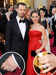 Natalie Portman Benjamin Millepied rings