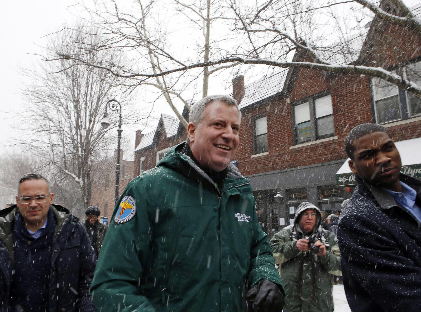 NYC mayor to skip St. Patrick's parade over policy on gays