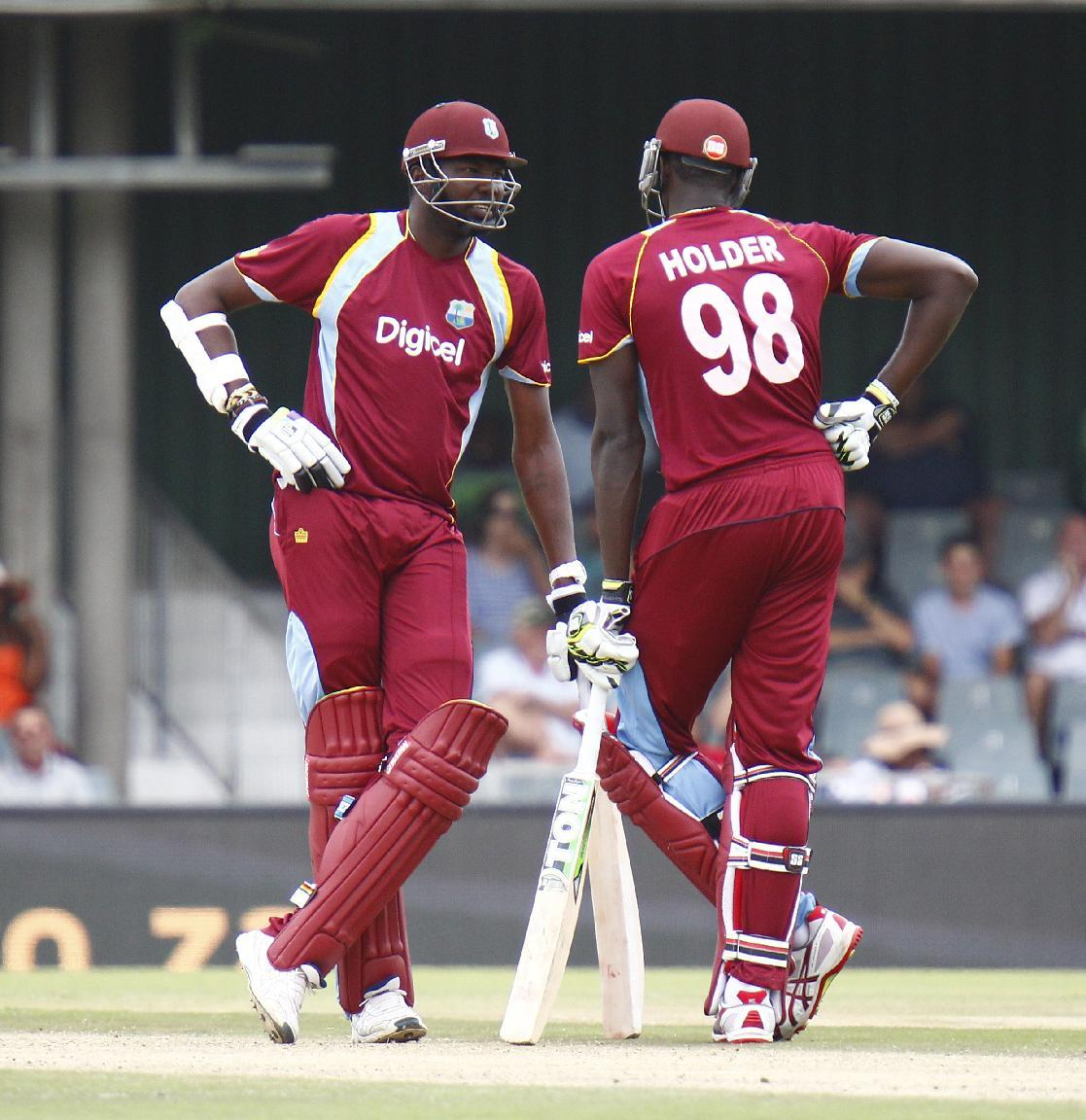 Windies field against South Africa in fourth ODI