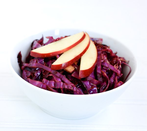 Red Cabbage with Cranberries