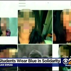San Dimas Students Wear Blue In Support Of Victim Of Cyberbullying