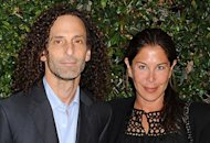 Kenny G, wife Lyndie Benson | Photo Credits: Jeffrey Mayer/WireImage