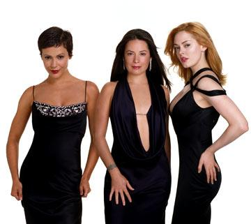 "Alyssa Milano, Rose McGowan and Holly Marie Combs The WB's ""Charmed"" Charmed"