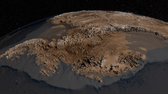 Naked Continent: See Antarctica De-Iced