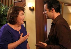 Margo Martindale and Jake Johnson | Photo Credits: Greg Gayne/Fox