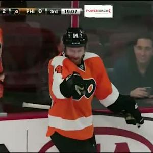 Sean Couturier Goal on Karri Ramo (00:53/3rd)