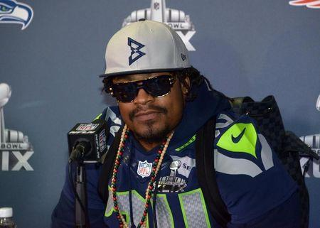 NFL: Super Bowl XLIX-Seattle Seahawks Press Conference