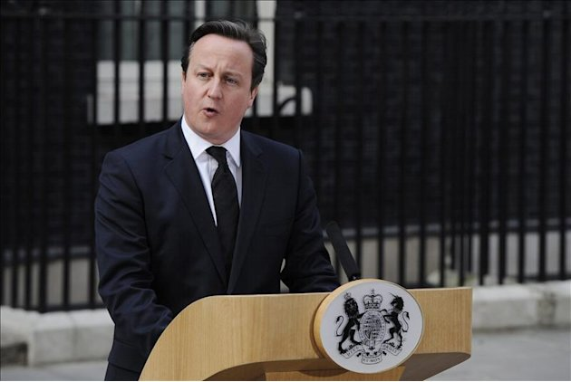 El primer ministro britnico, David Cameron. EFE/Archivo