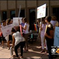 Rally, Crowded Courtroom In Boulder For Same Sex Wedding Hearing