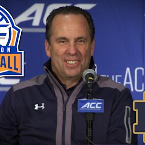 Notre Dame Head Coach Mike Brey on the Return of Jerian Grant | ACC Operation Basketball