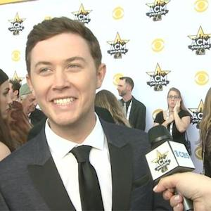The 50th Annual ACMs - Scotty McCreery (Red Carpet Interview)