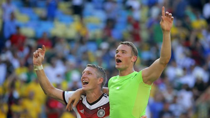 Neuer's composure stands out in win over France
