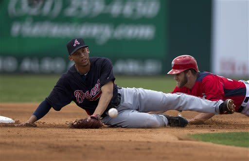 Harper, Espinosa lead Nationals over Braves 9-3